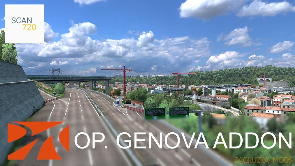 Operation Genova for ProMods Addon v1.0 [1.37.x]