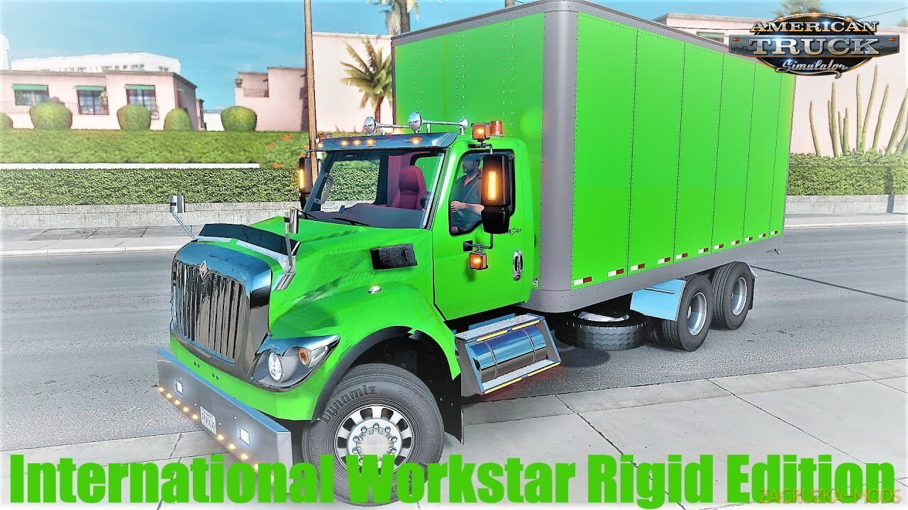 International Workstar Rigid Edition v1.0 (1.37.x) for ATS