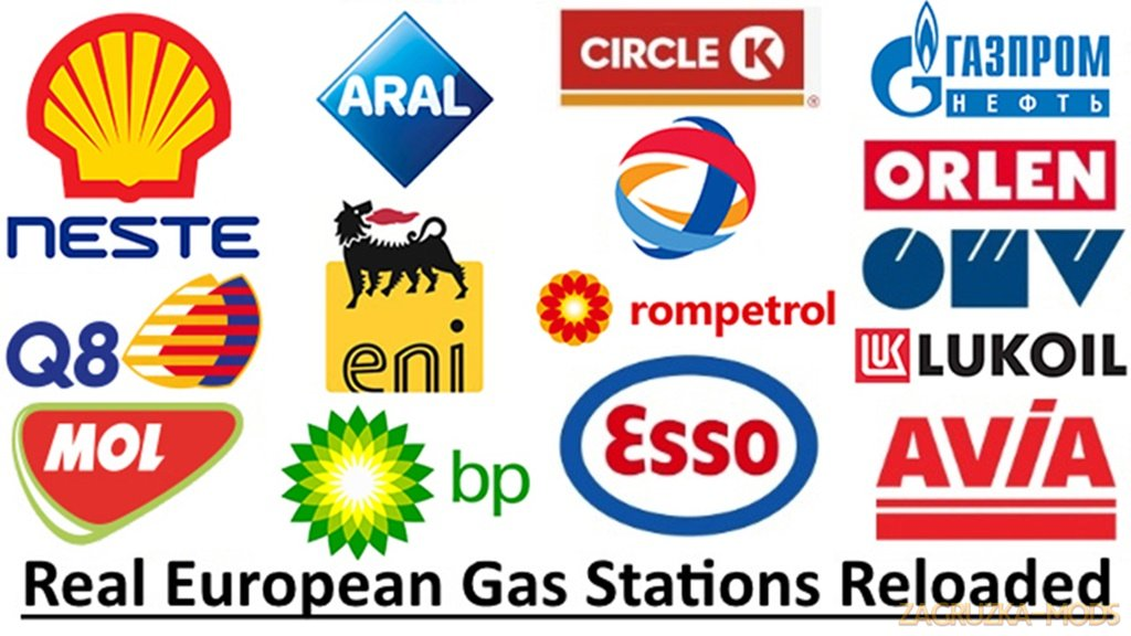 Real European Gas Stations Reloaded (1.37.x) for ETS2