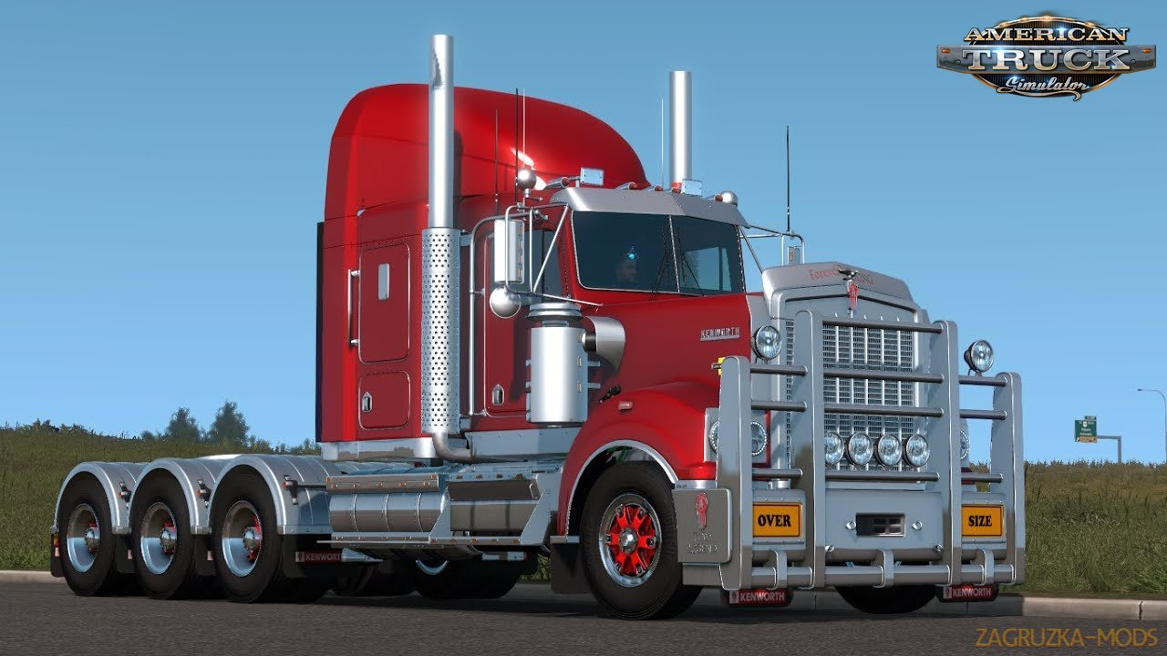Kenworth T900 Legend + Interior v1.0 (1.37.x) for ATS