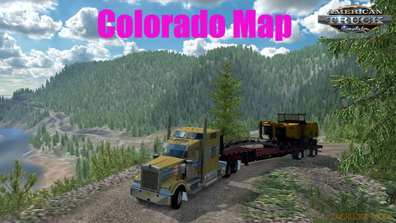 Colorado Map v2.0 By Ivan Mykyta (1.37.x) for ATS