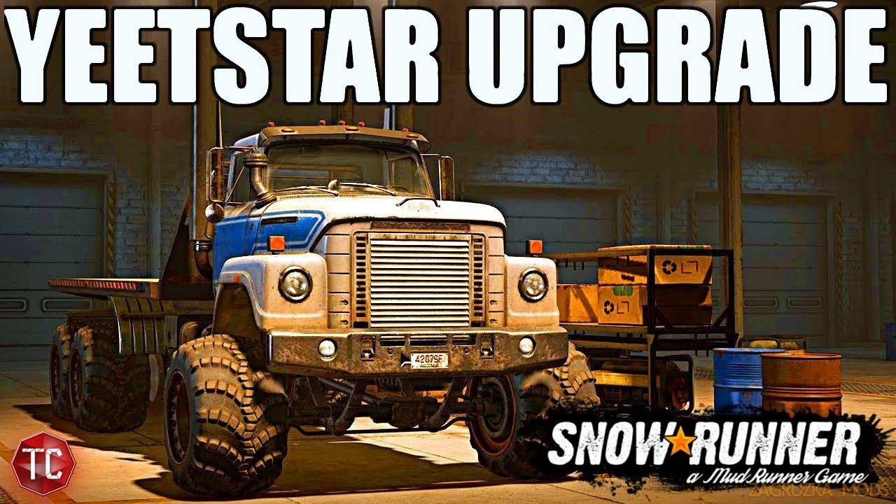 International Fleetstar 2070A v1.0.2 by Emilhetty for SnowRunner