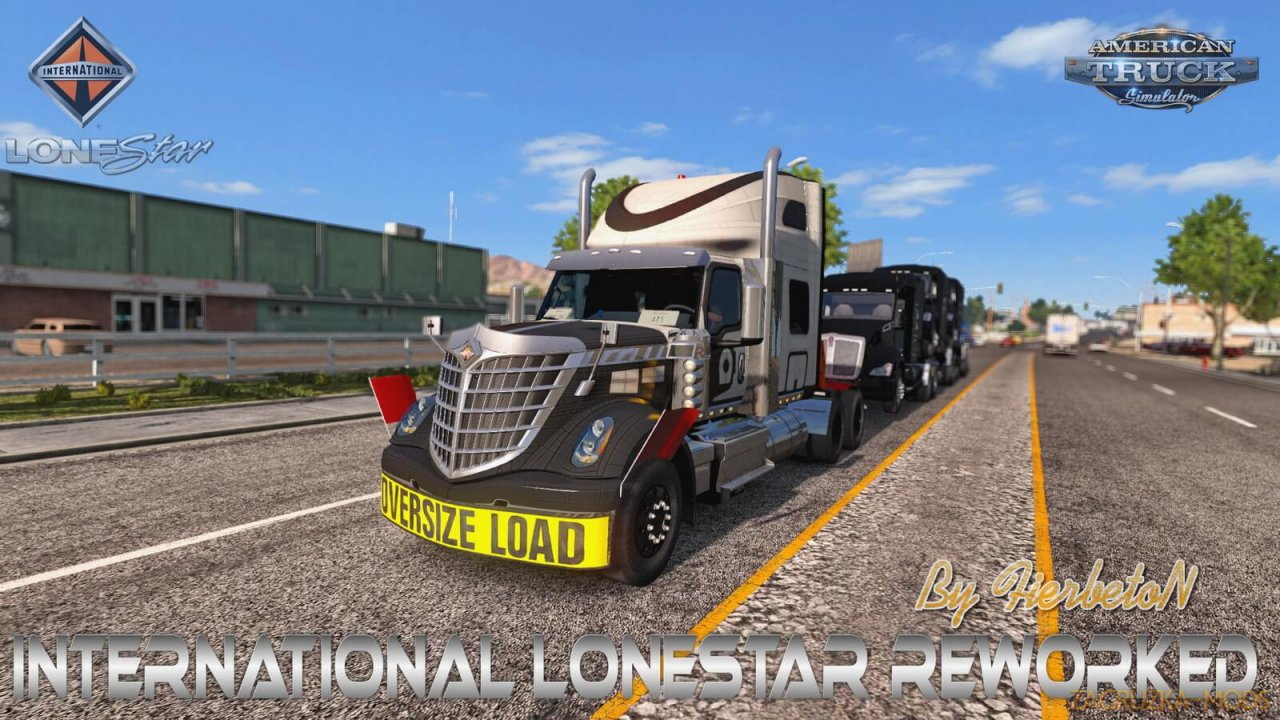 International LoneStar v1.2 by FierbetoN (1.37.x) for ATS
