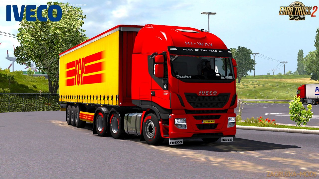 Iveco Cursor 11 E6 engine sound mod by Kriechbaum for Ets2