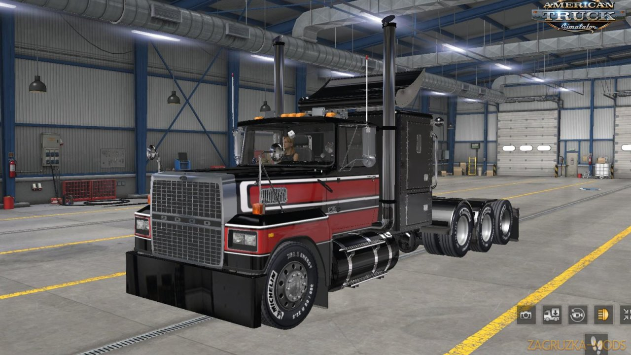 Ford LTL 9000 + Interior v3.0 (v1.38.x) for ATS