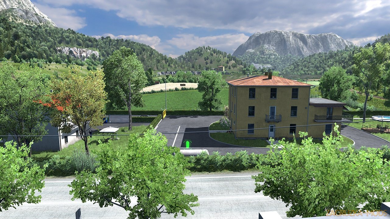 House in Italy by Adison Cavani (1.37+) for ETS2