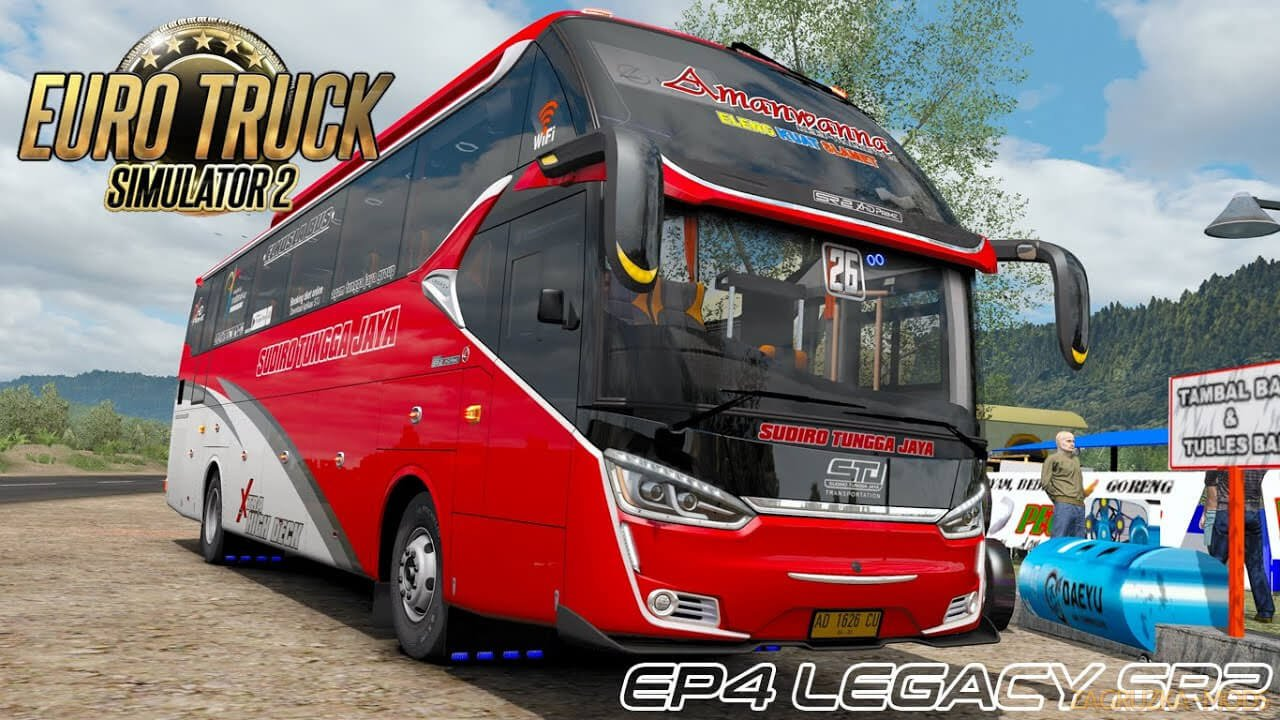 Bus Legacy SR 2 XHD Prime v1.0 by Muhammad Husni (1.37.x) for ETS2