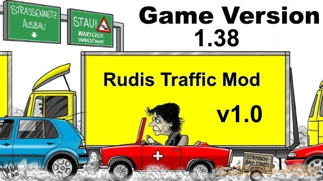 Rudis Rush Hour v1.6 (1.38.x) for ETS2