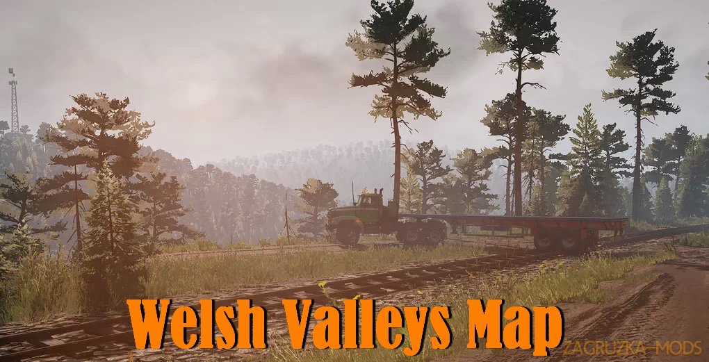 Welsh Valleys Map v0.9.1 for SnowRunner