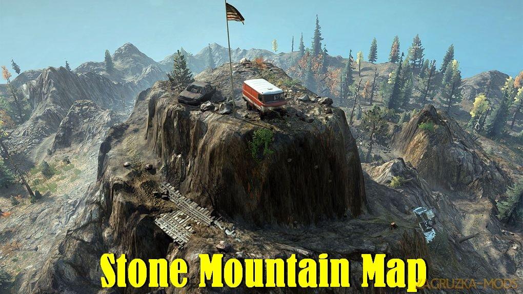 Stone Mountain Map v2.0 for SnowRunner