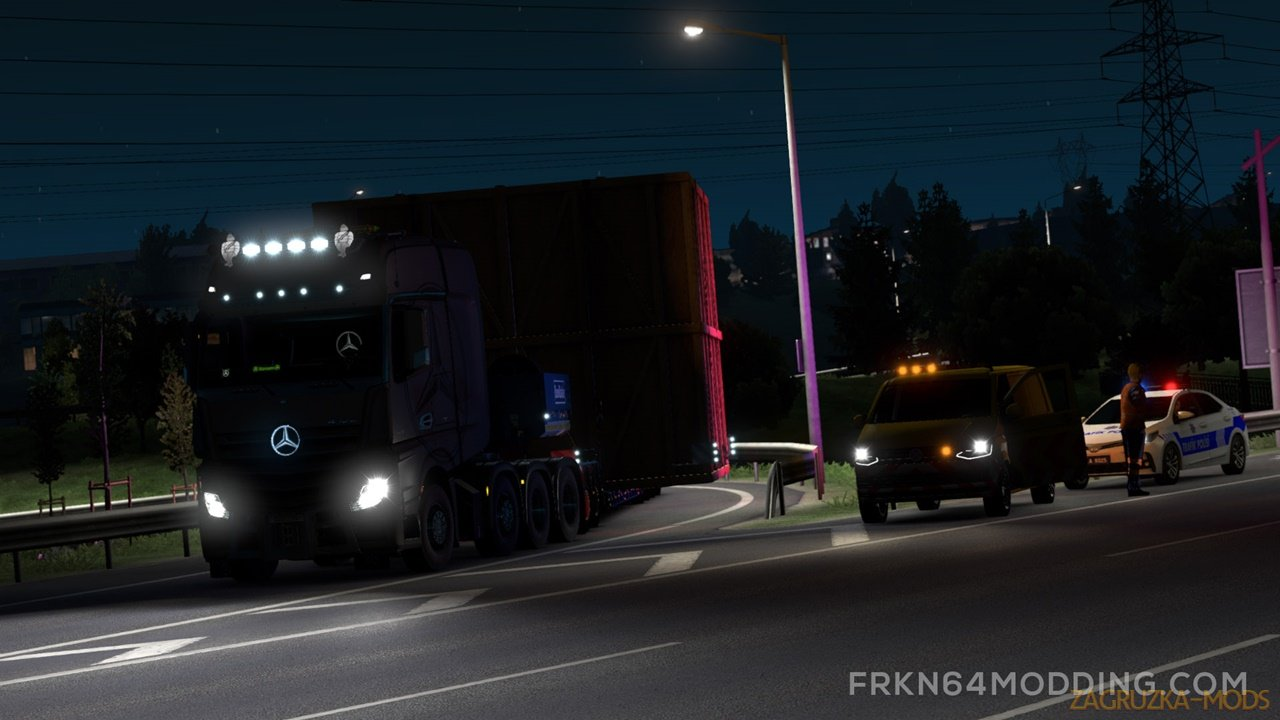 No Limits Mod v1.1 for Special Transport DLC (1.38.x) for Ets2 and ATS