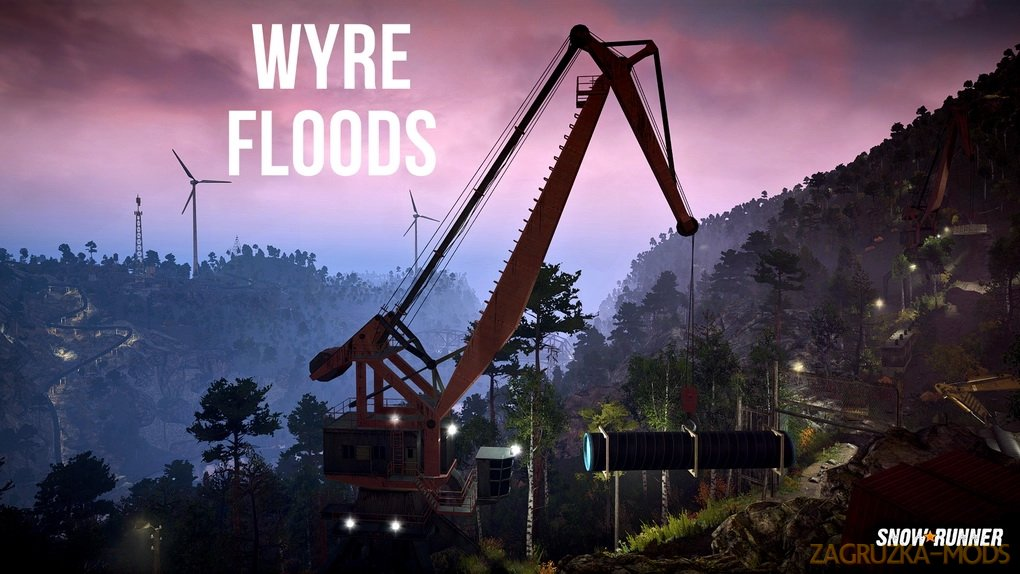 Wyre Floods Map v0.82 for SnowRunner