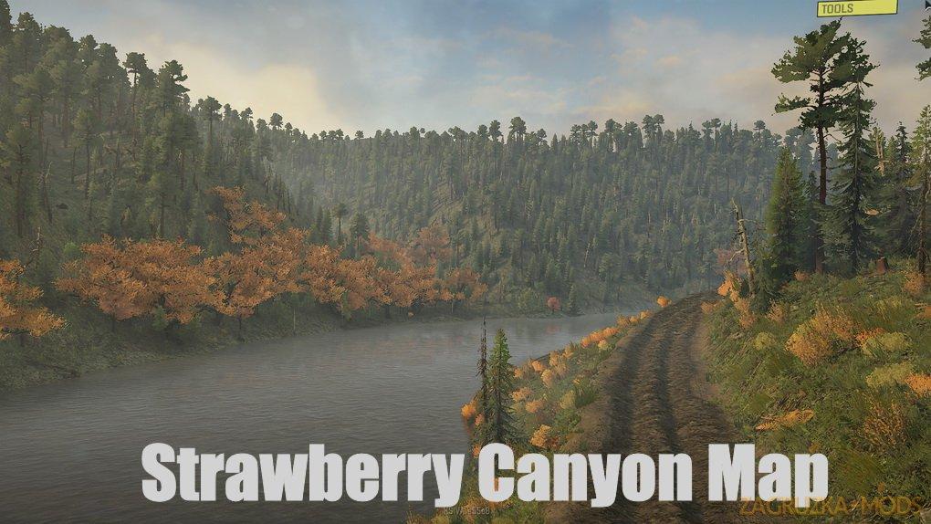 Strawberry Canyon Map v0.1.3 for SnowRunner