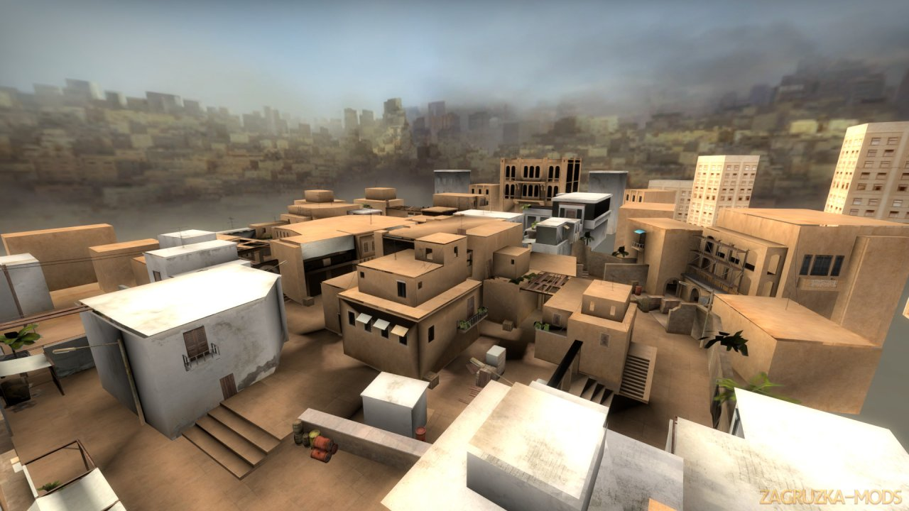 Sandstone - Standoff 2 Map v1.0 for CSGO