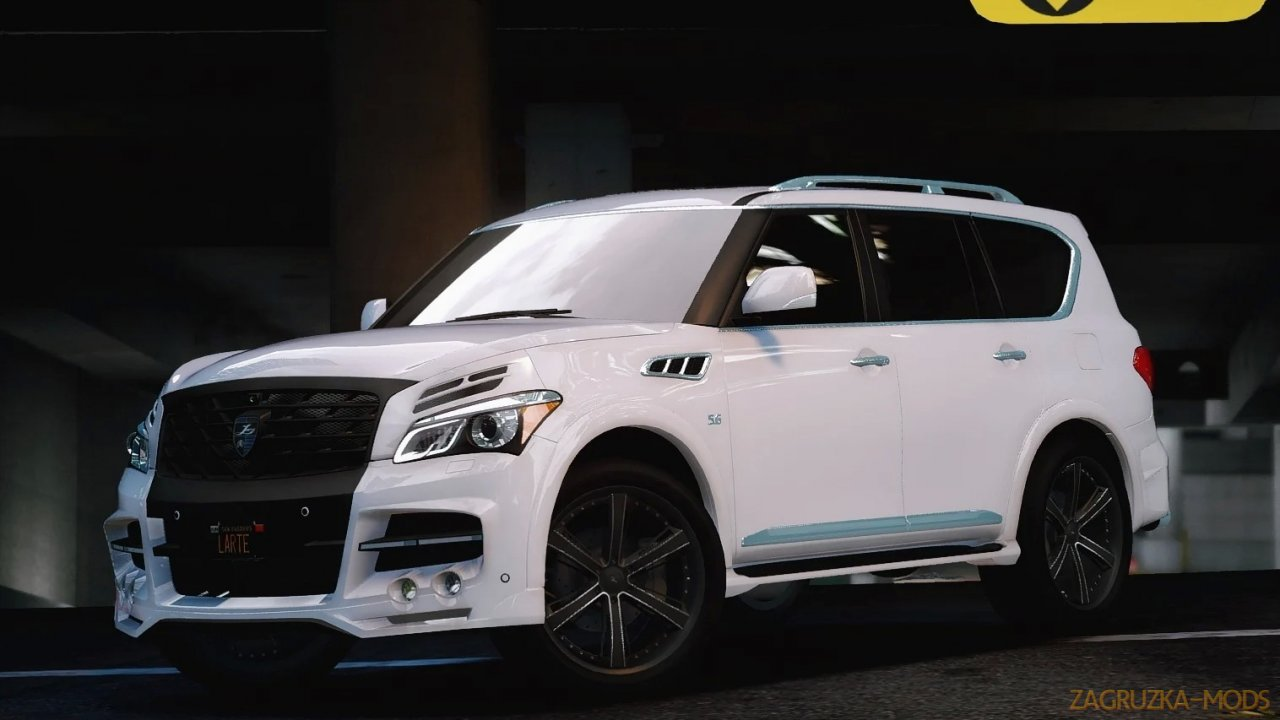 Infiniti QX80 2016 + Larte Kits v1.0 for GTA 5