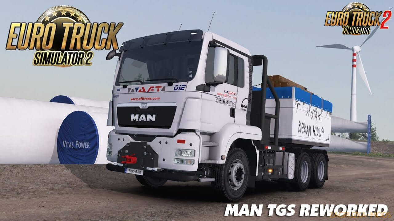 MAN TGS Euro 5 Reworked v1.3 (1.38.x) for ETS2