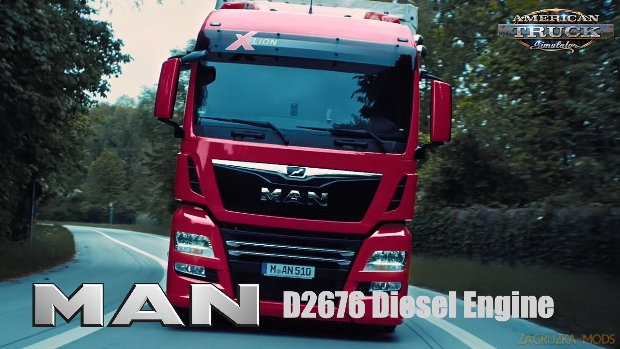 MAN D2676 Diesel Engine v1.1 (1.38.x) for ATS / ETS2
