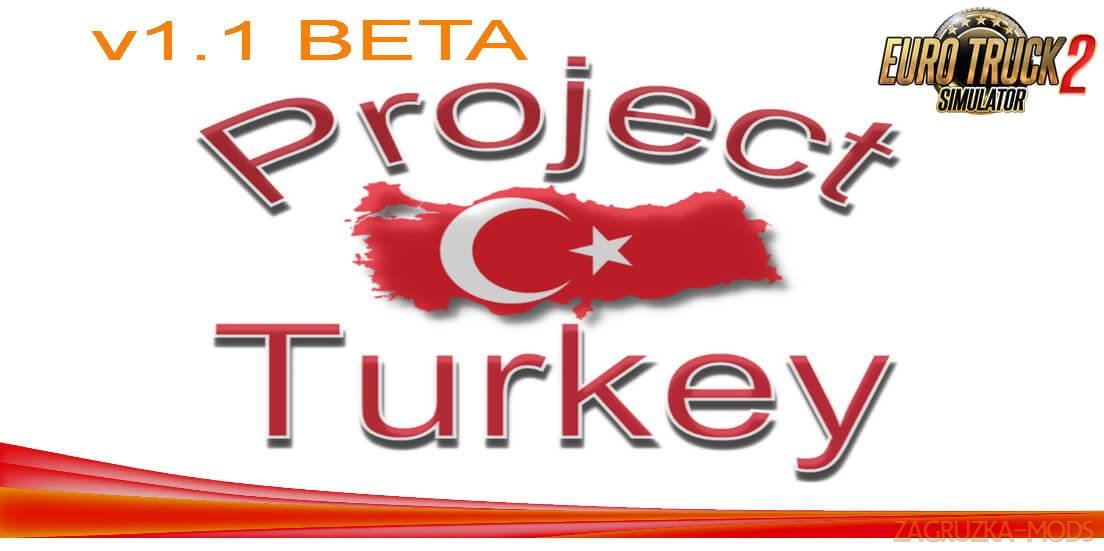 Project Turkey Map v2.0 (1.38.x) for ETS2