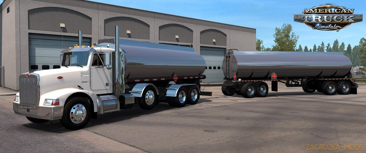 Project 3XX Heavy Truck and Trailer-Addon v2.6 (1.39.x) for ATS