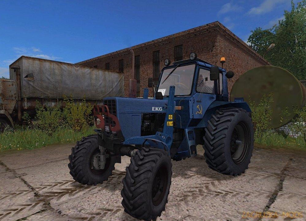 MTZ-82 Turbo Tractor v1.0 for FS17