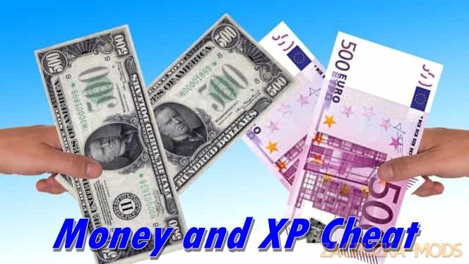 Money and XP Cheat (1.38.x) for ETS2
