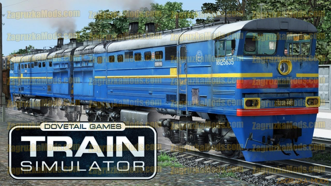 Diesel Locomotive 2TE10B-4481 v1.0 for TS 2020