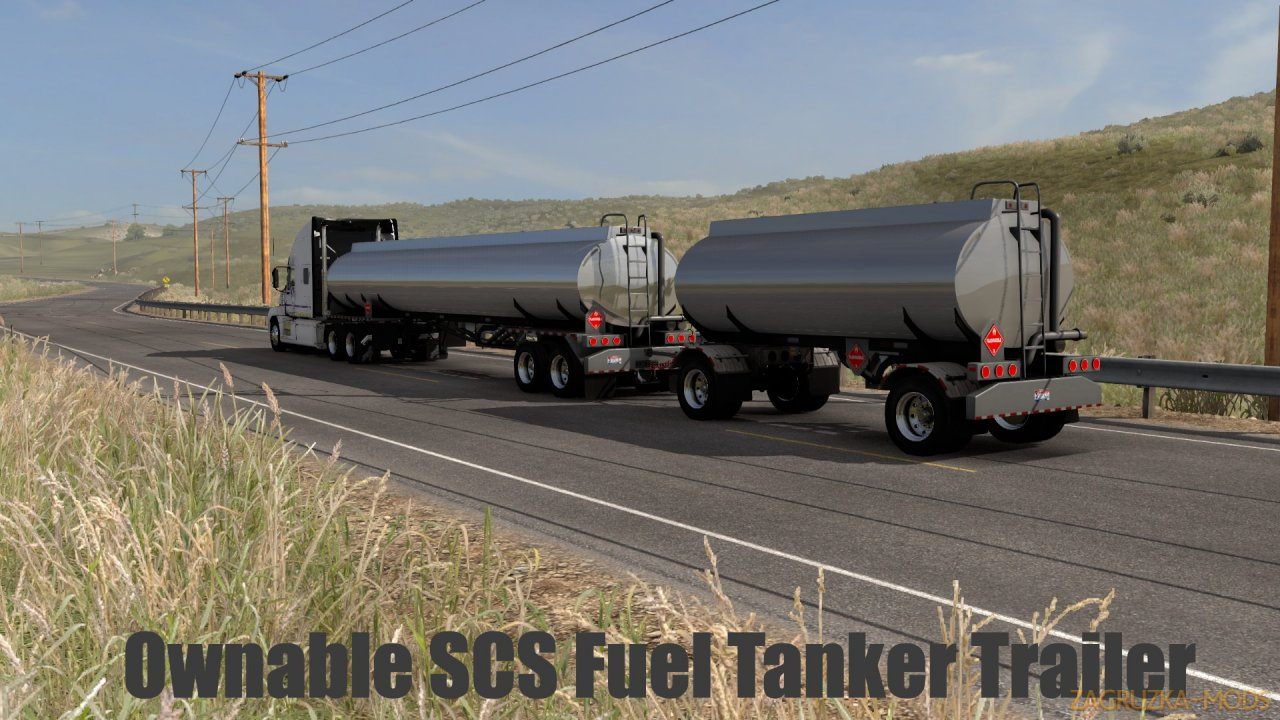 Ownable SCS Fuel Tanker Trailer v1.1 (1.38.x) for ATS