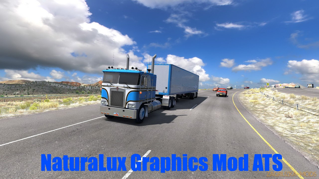 NaturaLux Graphics Mod v1.0 (1.38.x) for ETS2 and ATS