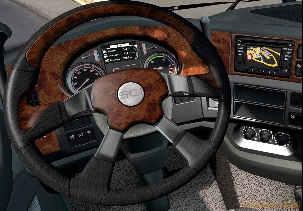 ATS Steering Creations Pack v1.0 for ETS2 (1.38.x)
