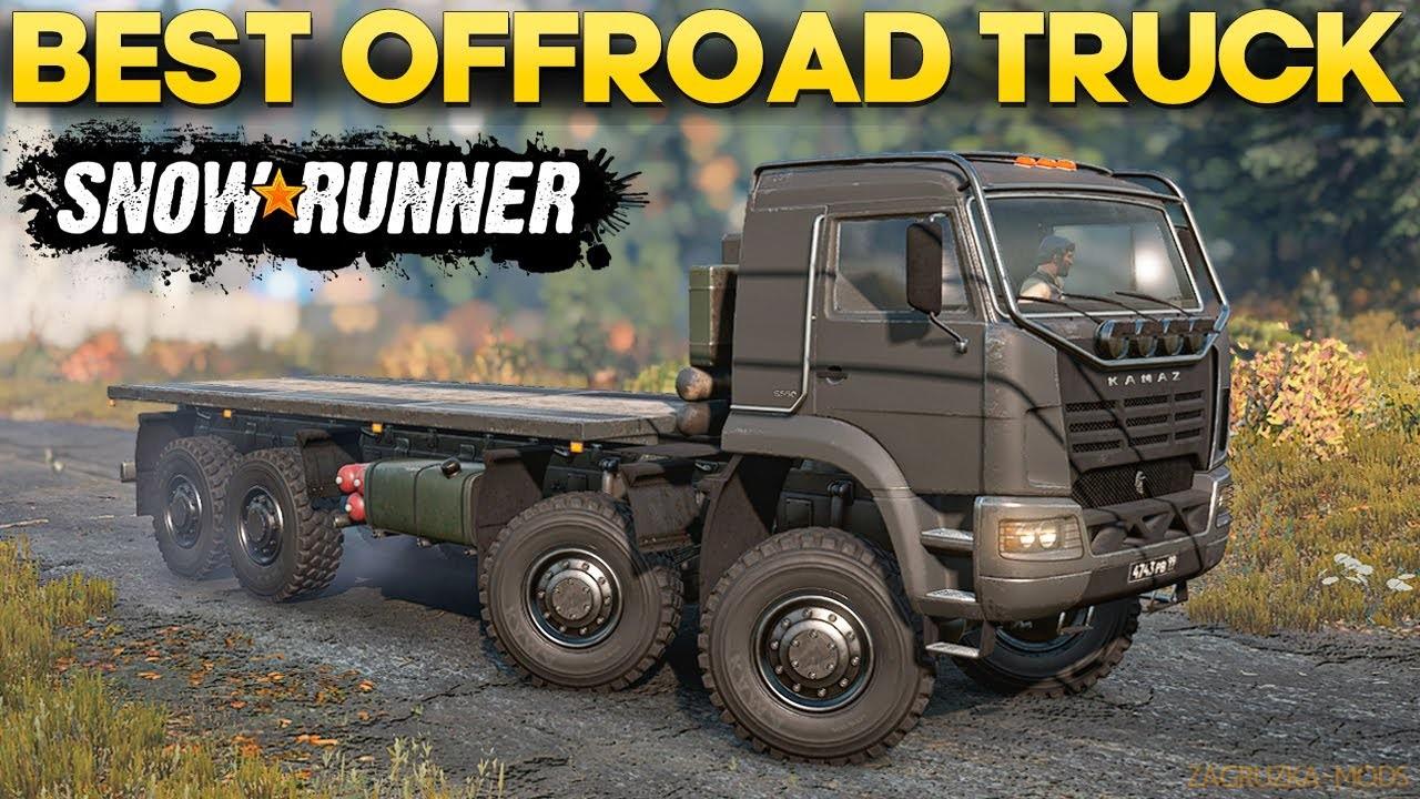 KamAZ-6560 Truck v1.3.9 for SnowRunner