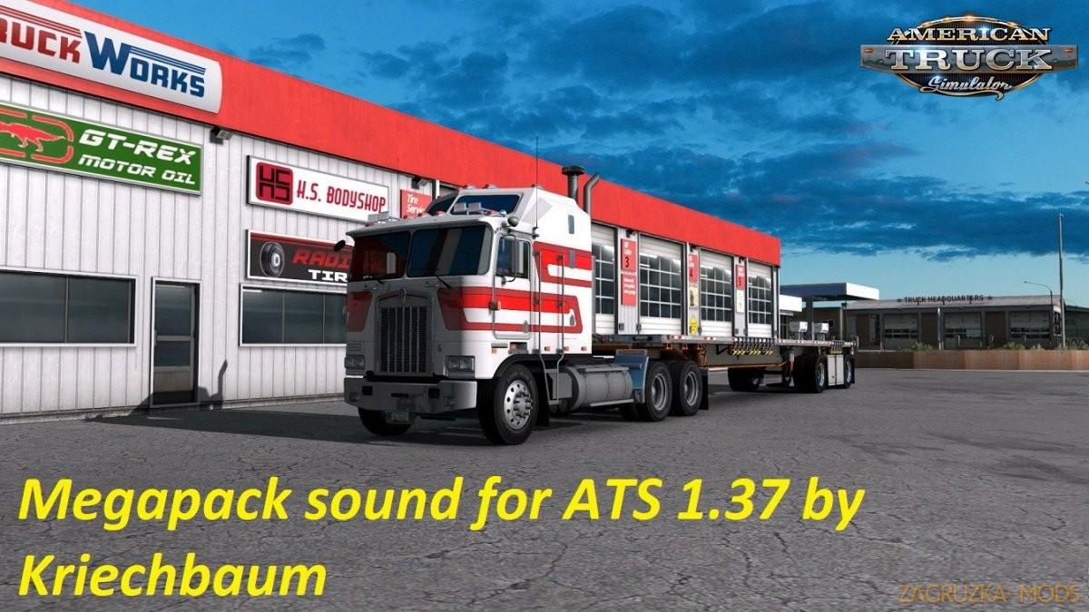 Engine Sound MegaPack v3.2 by Kriechbaum (1.38.x) for ATS