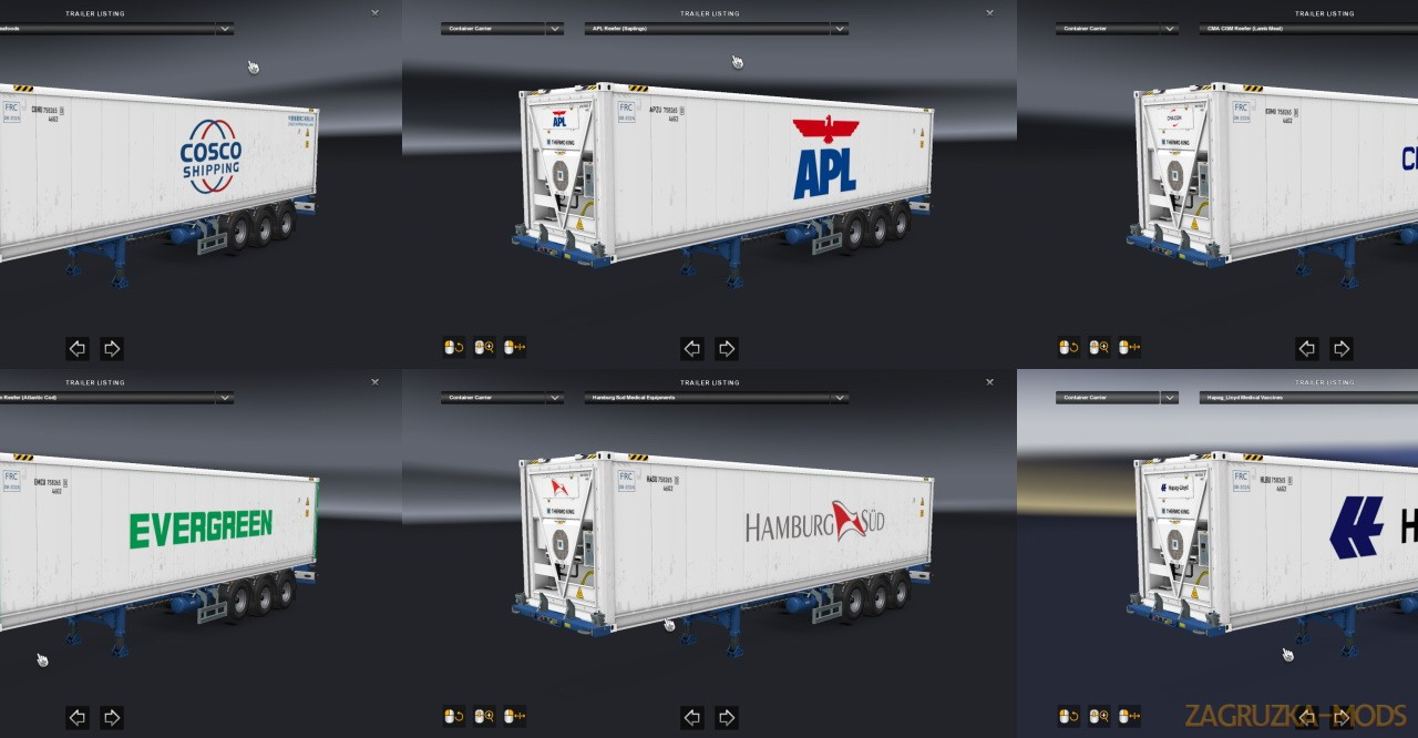 Reefer Container Cargo Pack v2.2 (1.38.x) for ETS2