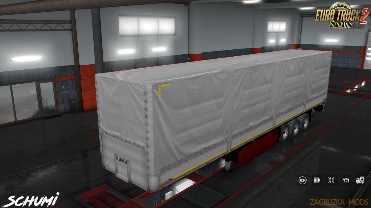 Trailer Schmitz Pack v1.6 by Schumi (1.40.x) for ETS2