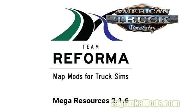 Mega Resources Mod v2.2.1 (1.40.x) for ATS