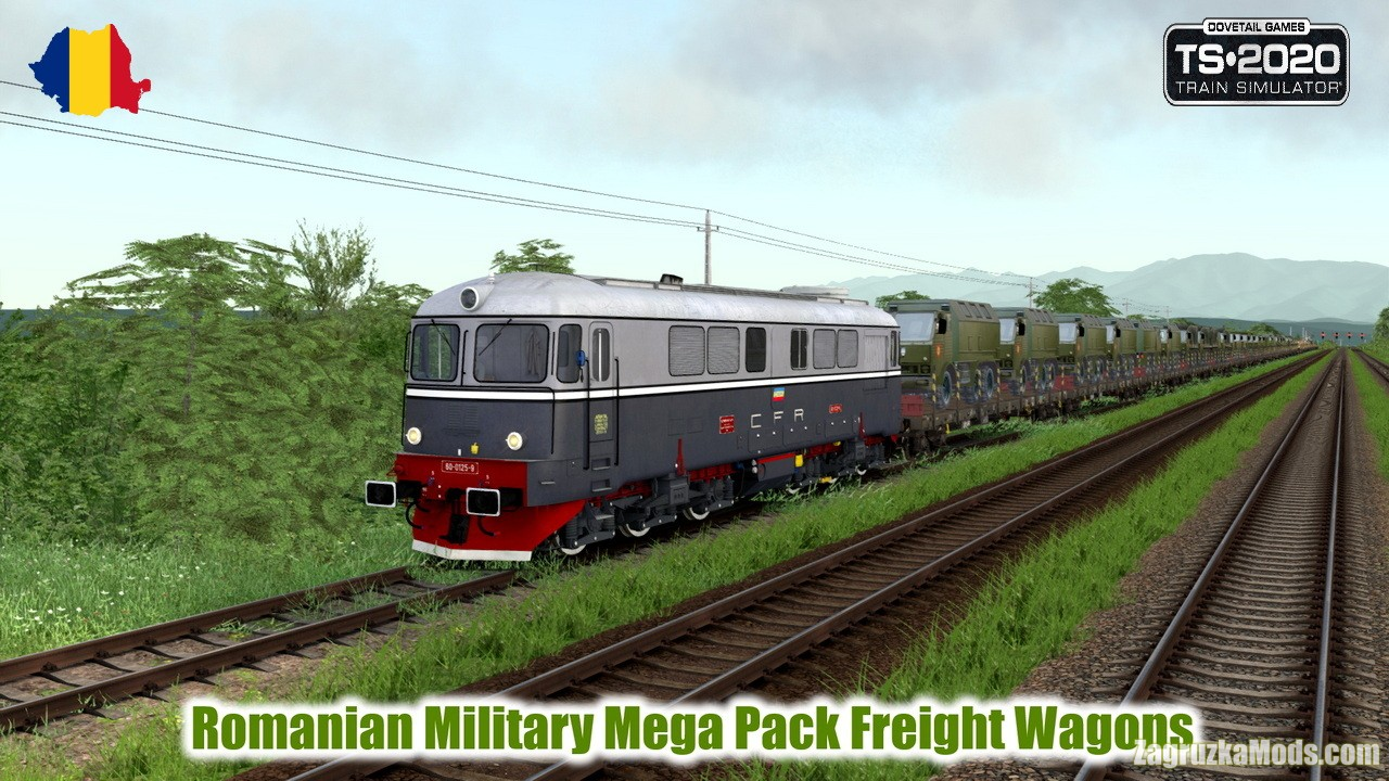 Romanian Military Mega Pack Freight Wagons v1.0 for TS 2020