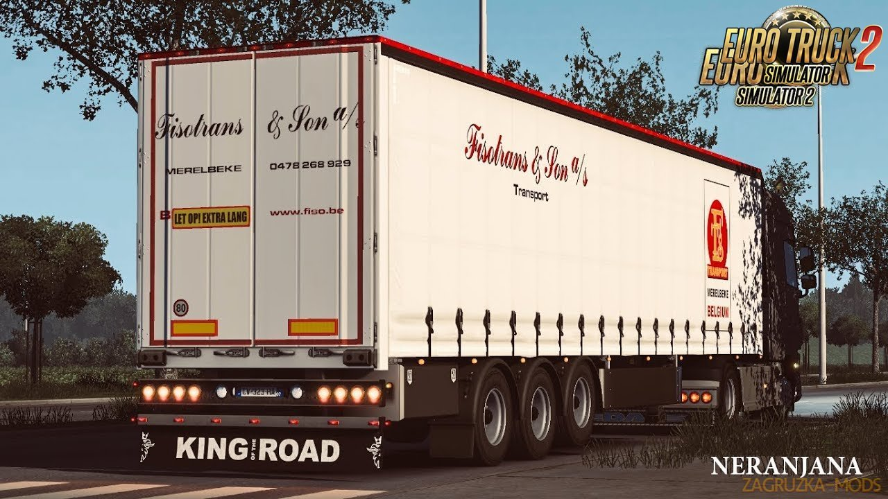SCS Trailer Tuning Pack v1.8.4 by SGDESIGN (1.41.x) for ETS2