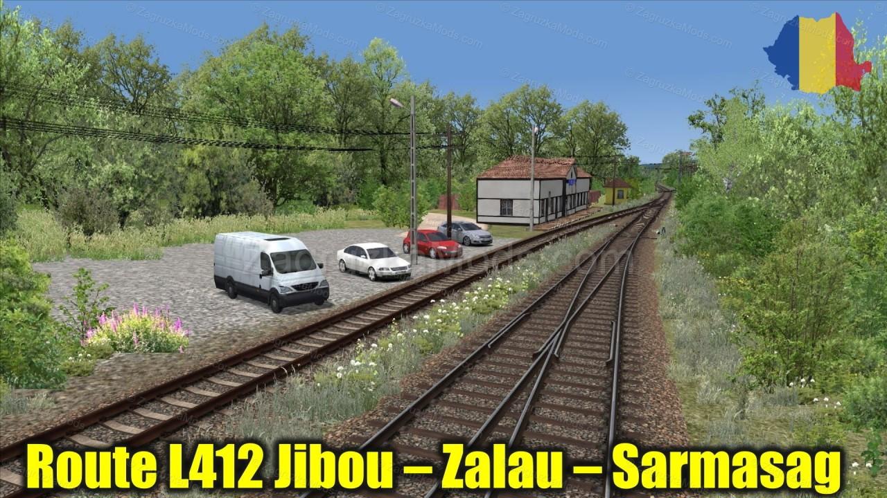Route L412 Jibou – Zalau – Sarmasag v1.0 for TS 2021