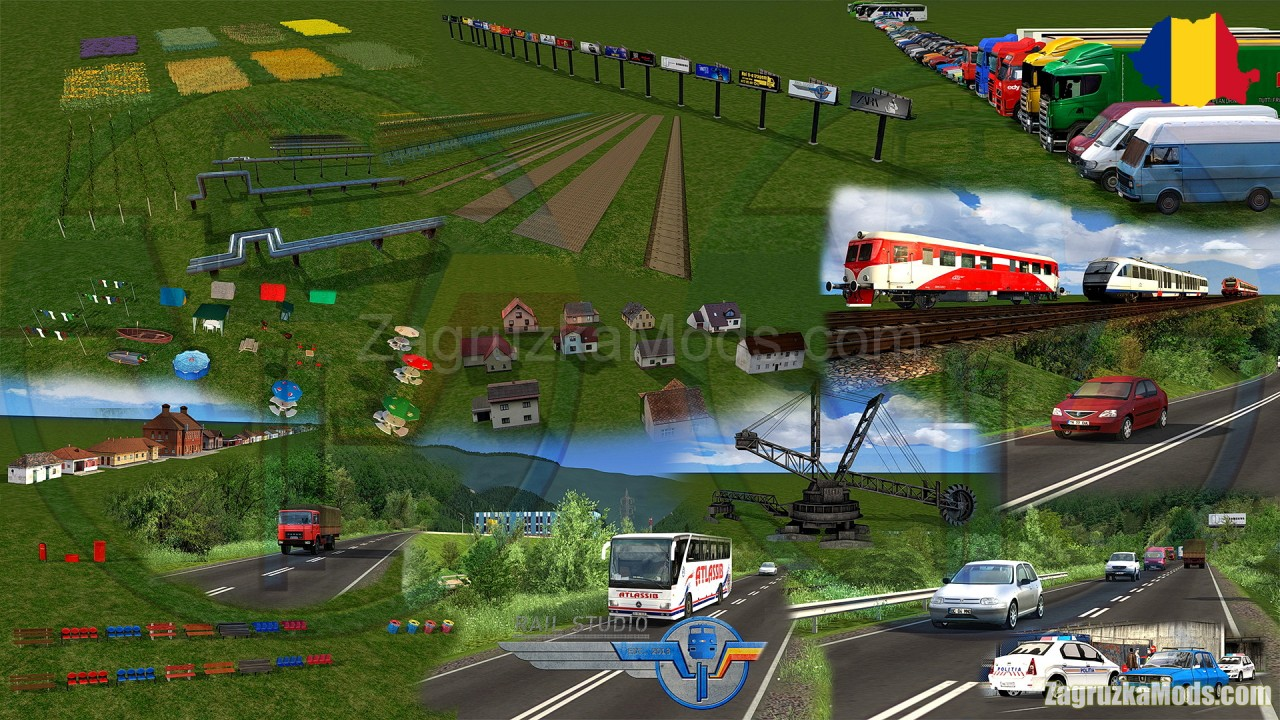 Romanian Assets Pack v2.0 for TS 20xx