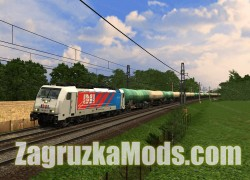 Skins Pack for Electric Locomotive Traxx BR186