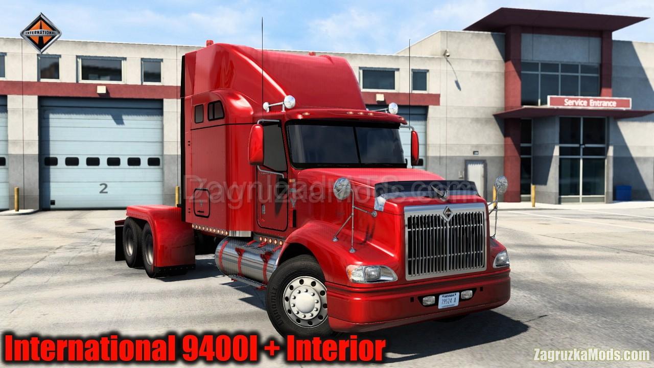 International 9400I + Interior v1.1 (1.40.x) for ATS