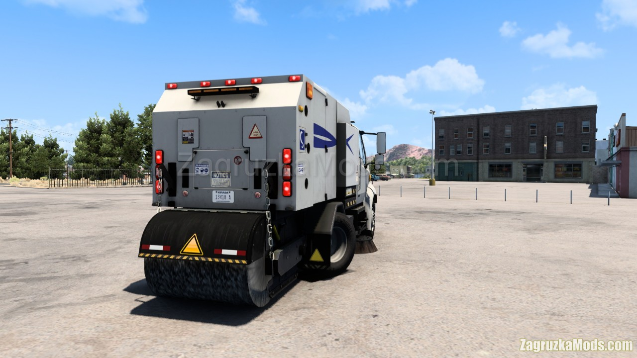 Driveable Street Sweeper v1.0 (1.40.x) for ATS
