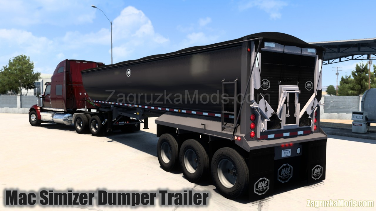 Mac Simizer Dumper Trailer Owned v2.0 (1.40.x) for ATS