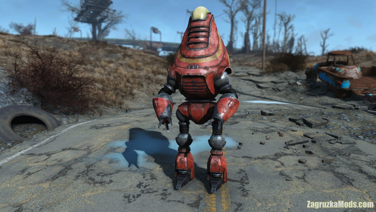 Capital Wasteland Robot Pack v1.0 for Fallout 4