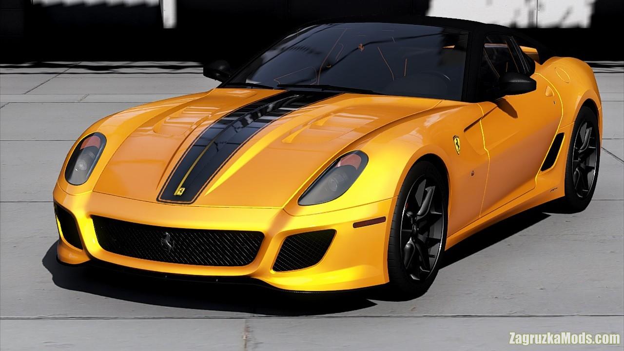 Ferrari 599 GTO 2011 v1.0 for GTA 5
